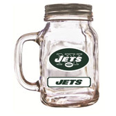 New York Jets Mason Jar