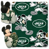 New York Jets Disney Hugger Blanket