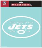 "New York Jets 8""x8"" Die-Cut Decal"