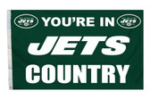 New York Jets 3'x5' Country Design Flag