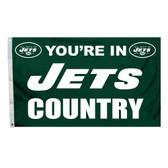 New York Jets 3 Ft. X 5 Ft. Flag W/Grommets 94139B