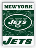 New York Jets 2-Sided 28 x 40 House Banner