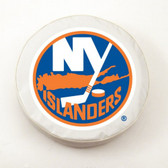 New York Islanders White Tire Cover, Large