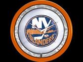 New York Islanders Plasma Clock