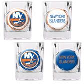 New York Islanders 4pc Square Shot Glass Set