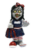 New York Giants Zombie Cheerleader Figurine