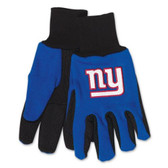New York Giants Two Tone Gloves - Adult Size