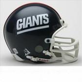 New York Giants Throwback Mini Replica Helmet