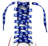 New York Giants Shoe Laces - 54""