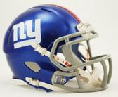 New York Giants Riddell Speed Mini Football Helmet