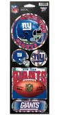 New York Giants Prismatic Stickers