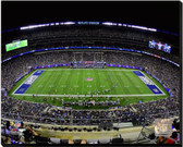 New York Giants MetLife Stadium 2014 20x24 Stretched Canvas