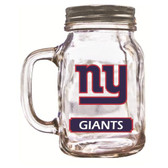 New York Giants Mason Jar