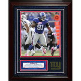 New York Giants Justin Tuck 11x14 Unsigned Turf Collage w/ 8x10 Photo
