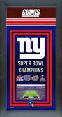 New York Giants Framed Championship Banner