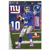 "New York Giants Eli Manning 11""x17"" Multi-Use Decal Sheet"