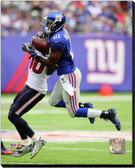 New York Giants Dominique Rodgers-Cromartie 2014 Action 16x20 Stretched Canvas