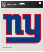 "New York Giants Die-Cut Decal - 8""x8"" Color"