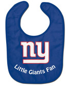 New York Giants Baby Bib - All Pro Little Fan