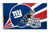 New York Giants 3'x5' Helmet Design Flag