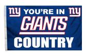 New York Giants 3'x5' Country Design Flag