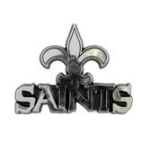 New Orleans Saints Silver Auto Emblem