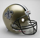 New Orleans Saints Riddell Full Size Deluxe Replica Football Helmet