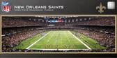 New Orleans Saints Panoramic Stadium Puzzle