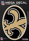 "New Orleans Saints 5""x7"" Mega Decal"