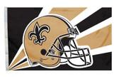 New Orleans Saints 3'x5' Helmet Design Flag