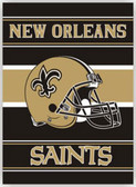 """New Orleans Saints 28""""x40"""" 2-Sided Banner"""