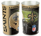 "New Orleans Saints 15"" Wastebasket"