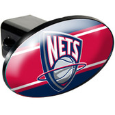 New Jersey Nets Trailer Hitch Cover