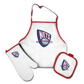 New Jersey Nets Grilling Apron Set