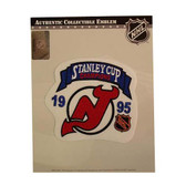 New Jersey Devils 1995 Stanley Cup Champions Patch