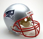 New England Patriots Riddell Full Size Deluxe Replica Football Helmet