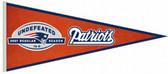 New England Patriots Perfect Season Commemorative Pennant
