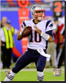 New England Patriots Jimmy Garoppolo 2014 Action 20x24 Stretched Canvas