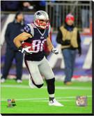 New England Patriots Danny Amendola 2014 Action 40x50 Stretched Canvas