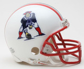New England Patriots 1990-1992 Throwback Riddell Mini Football Helmet