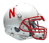 Nebraska Huskers Schutt Authentic Full Size Helmet