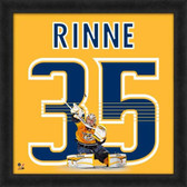 Nashville Predators Pekka Rinne 20X20 Framed Uniframe Jersey Photo