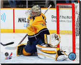 Nashville Predators Pekka Rinne 2012-13 Action 40x50 Stretched Canvas