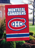 Montreal Canadians 2 Sided Banner Flag