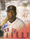 Mo Vaughn Boston Red Sox Signed 8x10 Photo
