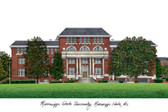 Mississippi State University Lithograph