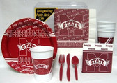 Mississippi State Bulldogs Party Supplies Pack #1
