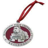 Mississippi State Bulldogs Mascot Logo Ornament