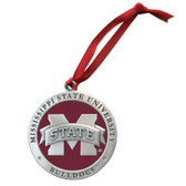 Mississippi State Bulldogs Logo Ornament