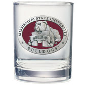 Mississippi State Bulldogs Double Old Fashioned Glass Set DOF10509ER